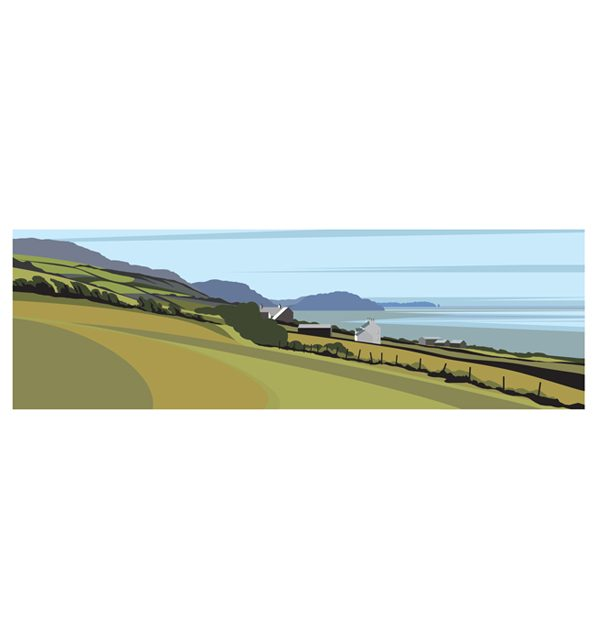 Panoramic - Across Niarbyl Bay