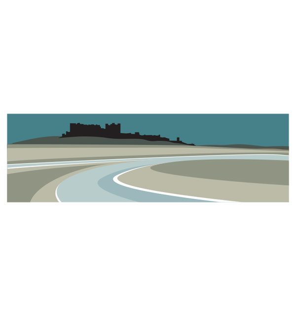 Bamburgh Castle - Panoramic