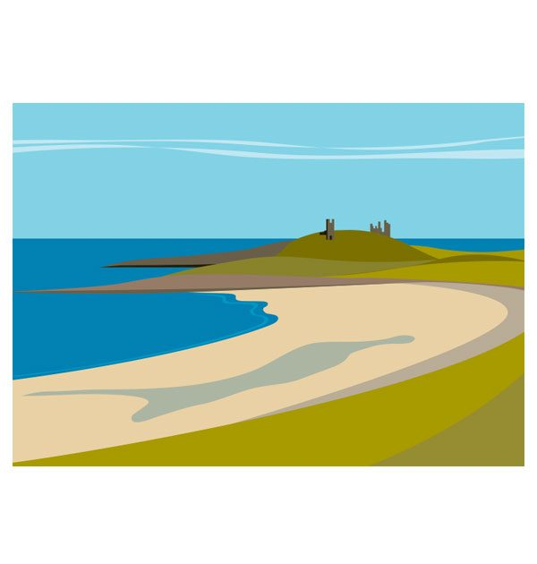 Embleton Bay to Dunstanburgh