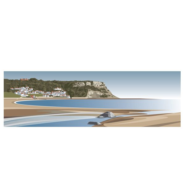 Runswick Sands - Panoramic