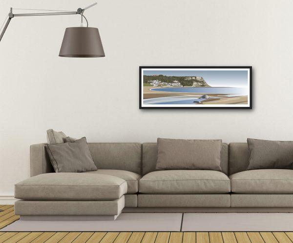 Runswick Sands - Panoramic