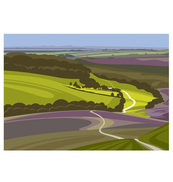 Hole of Horcum - Landscape
