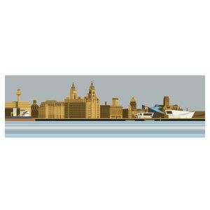 The Liverpool Waterfront - Panoramic