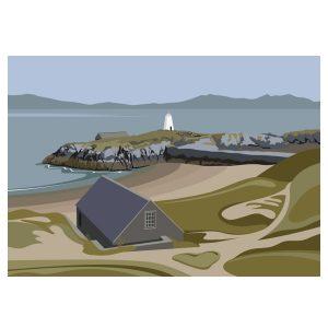 Llanddwyn Island Beacon