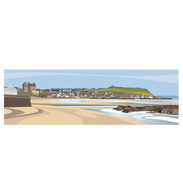 South Sands, Scarborough - Panoramic