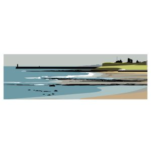 Towards Tynemouth - Panoramic