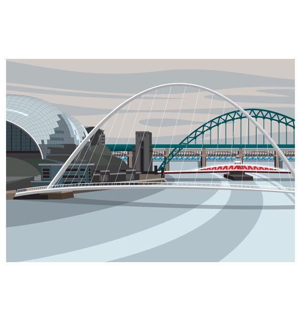 Gateshead, Millennium Bridge