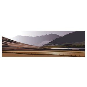 Panoramic - Road to Snowdon