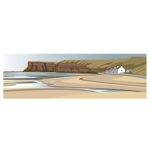 Saltburn Beach - Panoramic