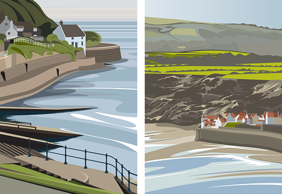 Coastguard Cottage & Robin Hoods Bay