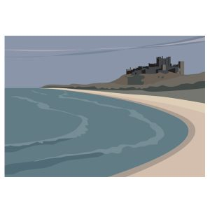 The Beach at Bamburgh
