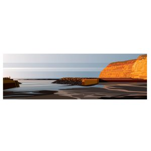 Panoramic - Evening at Staithes