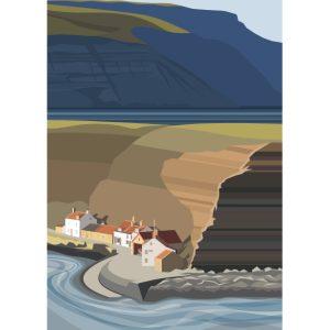 Cowbar Nab & Boulby Cliffs