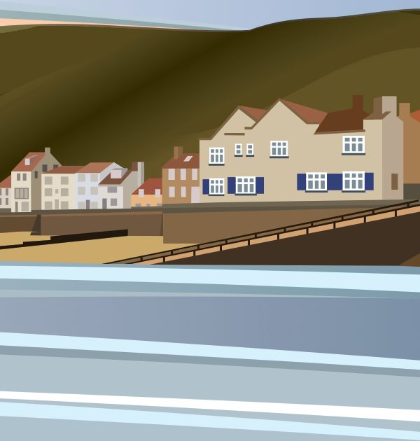 Staithes Harbourside