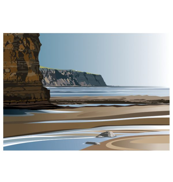 Robin Hoods Bay - Boggle Hole to Ness Point
