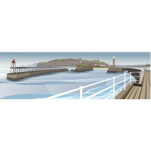 Whitby Harbour & Piers